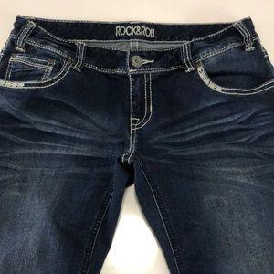 "Rock & Roll Jeans size 32"" waist bootcut"